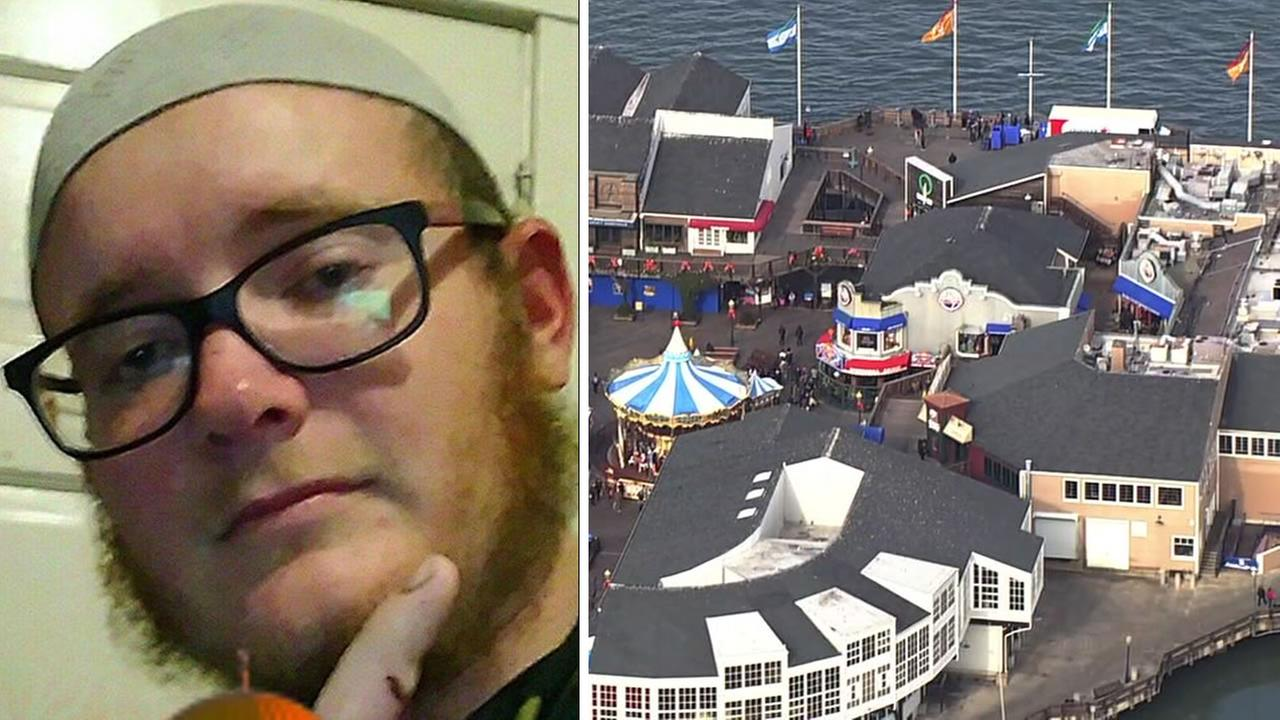 The FBI on Dec. 22, 2017 announced that Everitt Aaron Jameson, a Modesto, Calif. resident, has been charged with planning a Christmas terror attack at San Franciscos Pier 39.