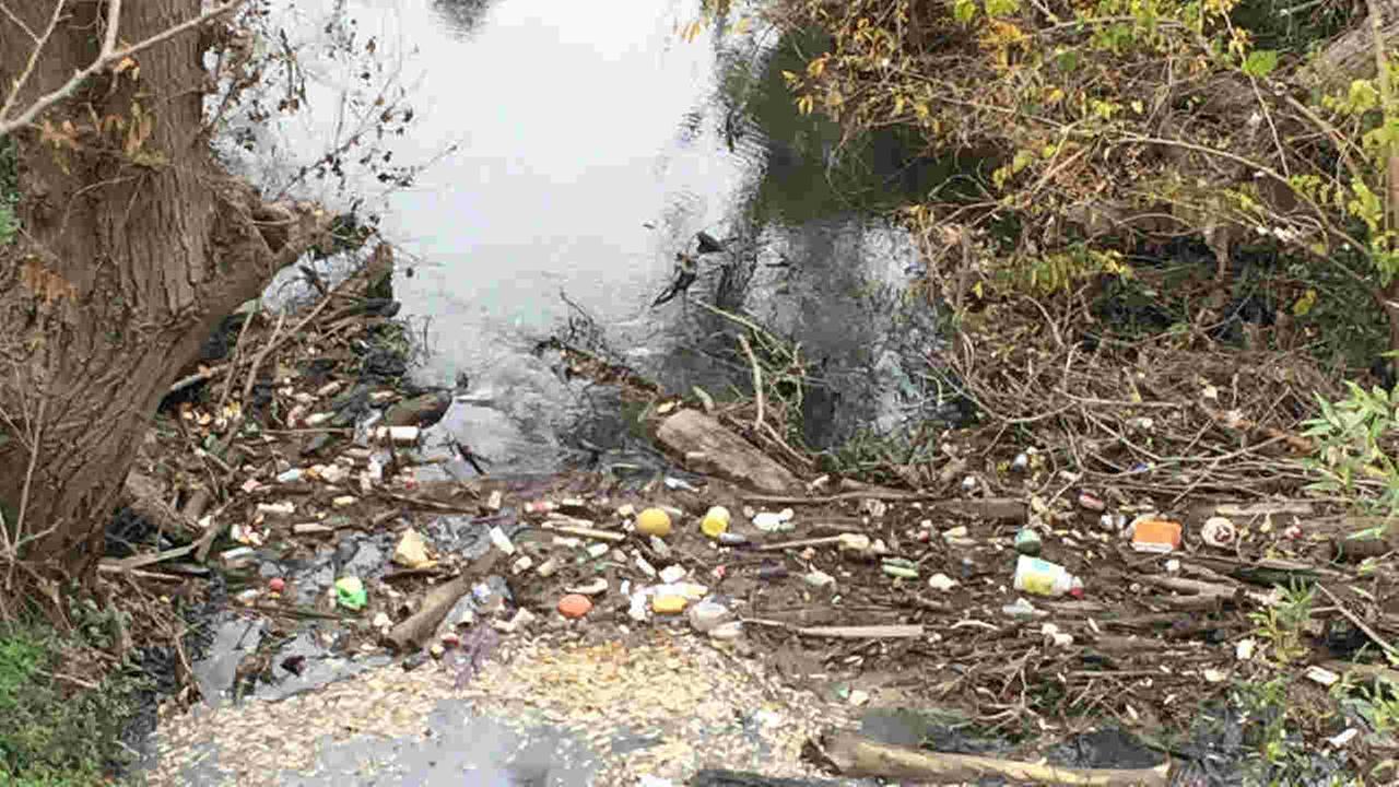 Coyote Creek is seen in San Jose, Calif. on Tuesday, Jan. 2, 2018.