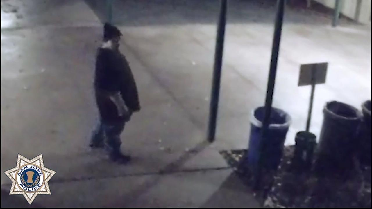 The suspect in a San Jose sexual assault case appears in this undated police image.