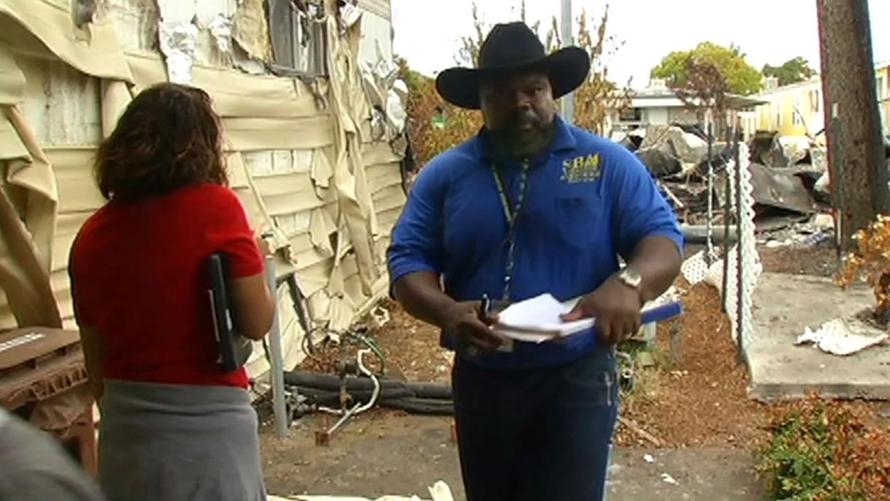 FEMA crews inspect homes in Napa following earthquake