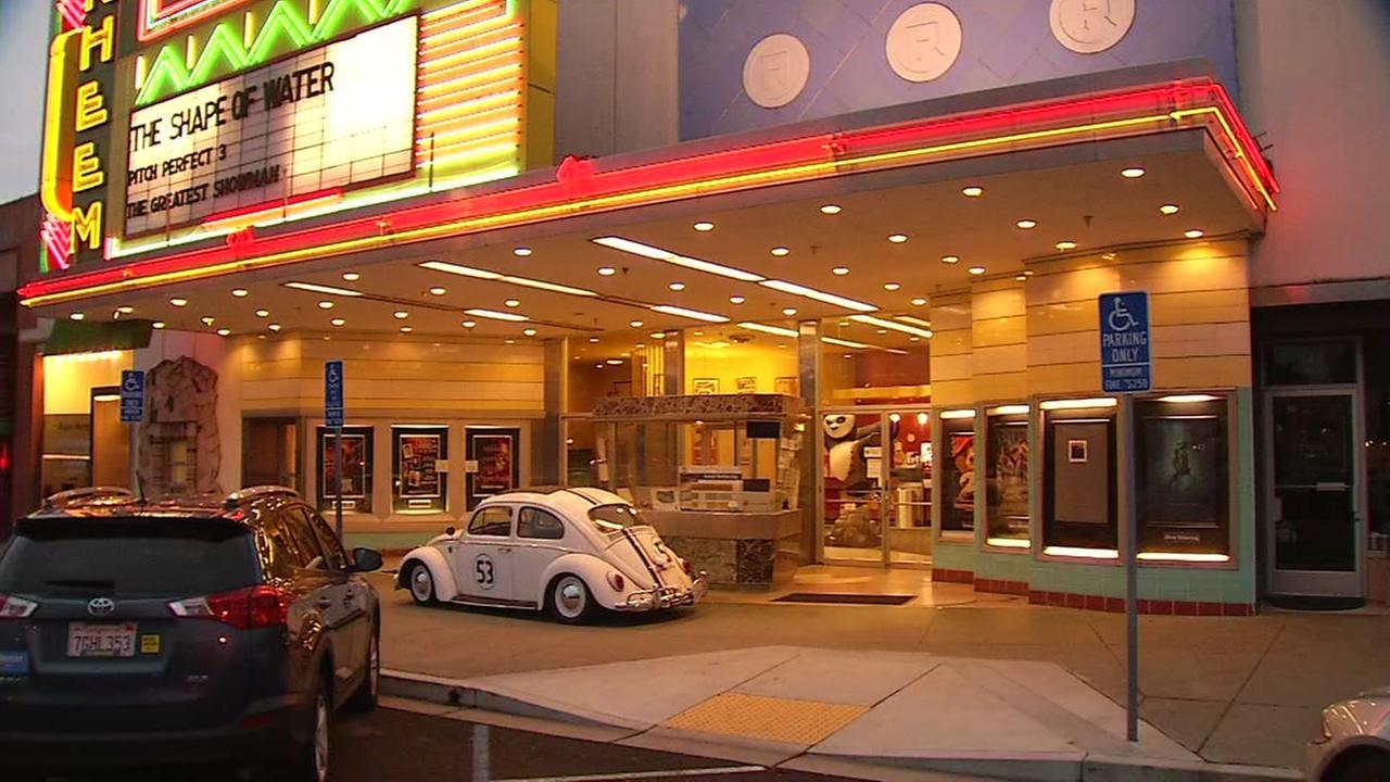 The Rheem Theater is seen in Moraga, Calif. on Sunday, Jan. 7, 2018.