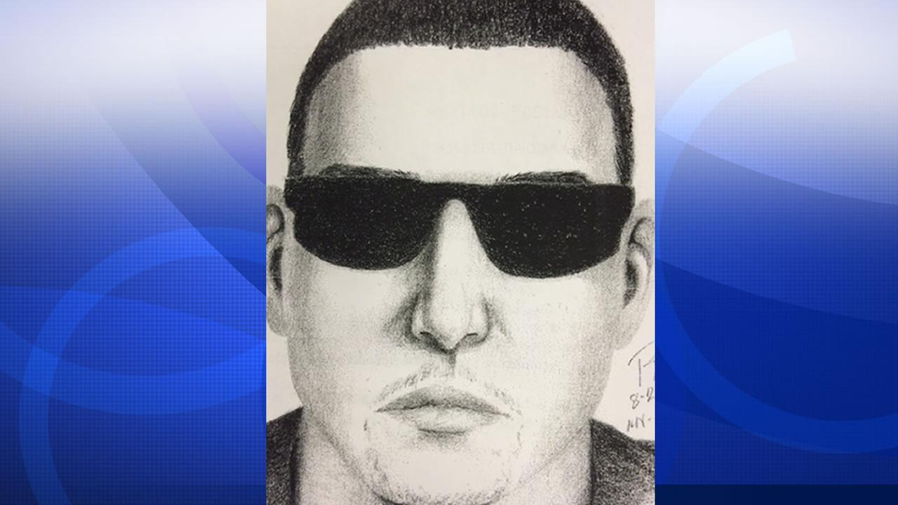 Police released this sketch of a man wanted for exposing himself to a girl in Scotts Valley.