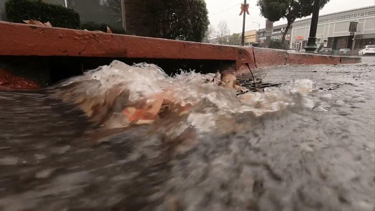 A storm drain is seen in this undated image.