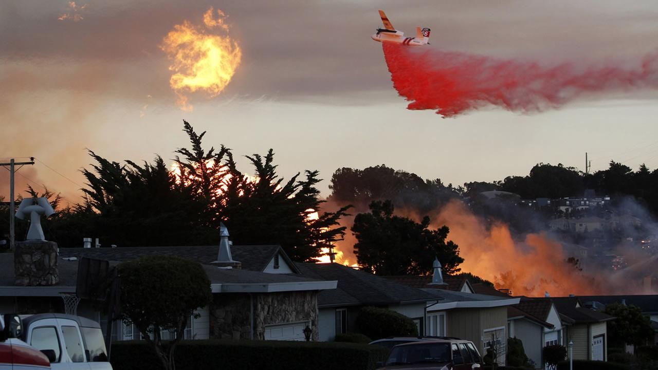 pipeline explosion roars through a mostly residential neighborhood in San Bruno