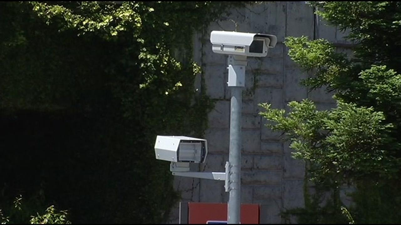 FILE -- Surveillance camera