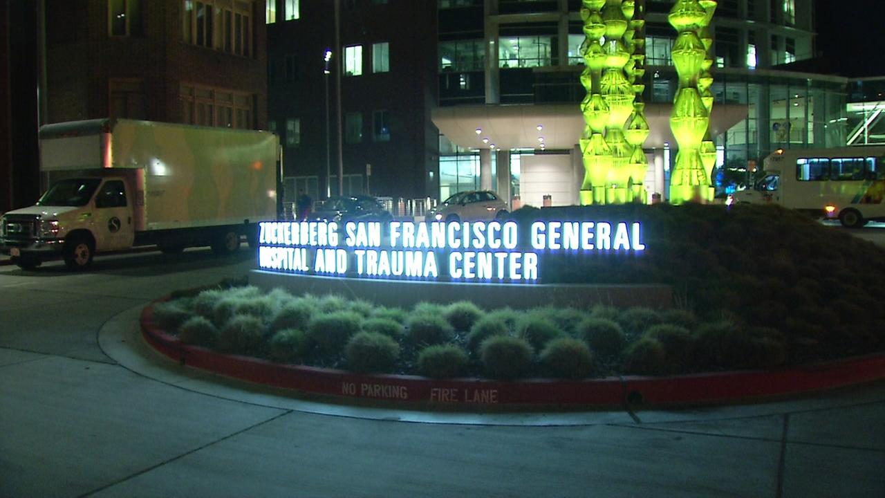 San Francisco General Hospital appears on Tuesday, Feb. 13, 2018.
