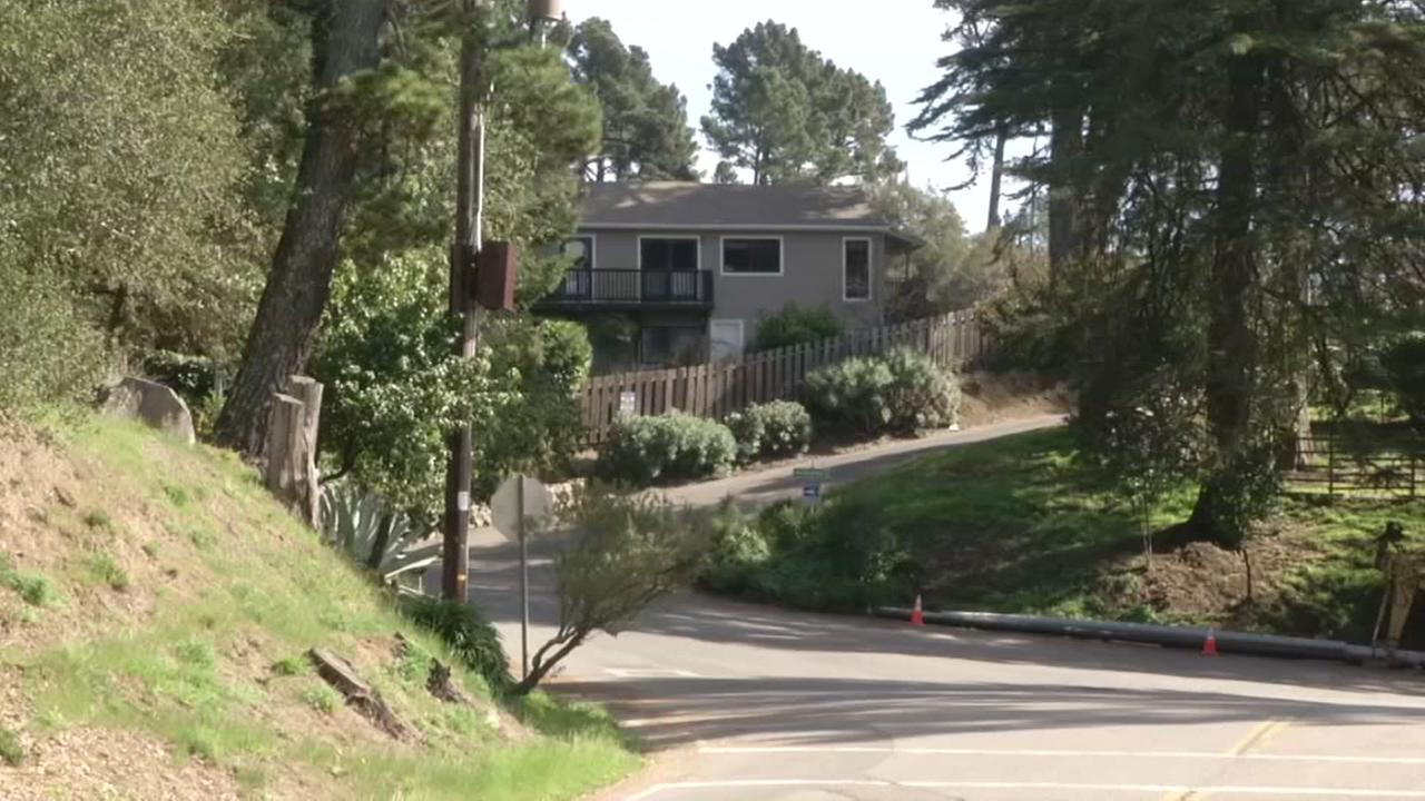 A home in the Oakland Hills is pictured in this photo taken on Wednesday, Feb. 14, 2018.