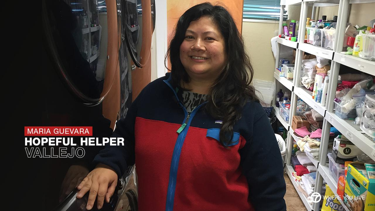 Every Friday, Maria Guevara and her team of volunteers navigate the streets of their community, delivering lunches to people in need. Thats just one of the many reasons Maria is an ABC7 Star.