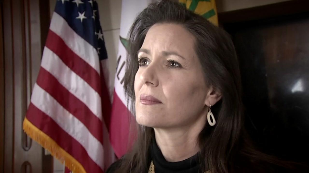 Oakland Mayor Libby Schaaf appears in her Oakland office on Monday, Feb. 26, 2018.