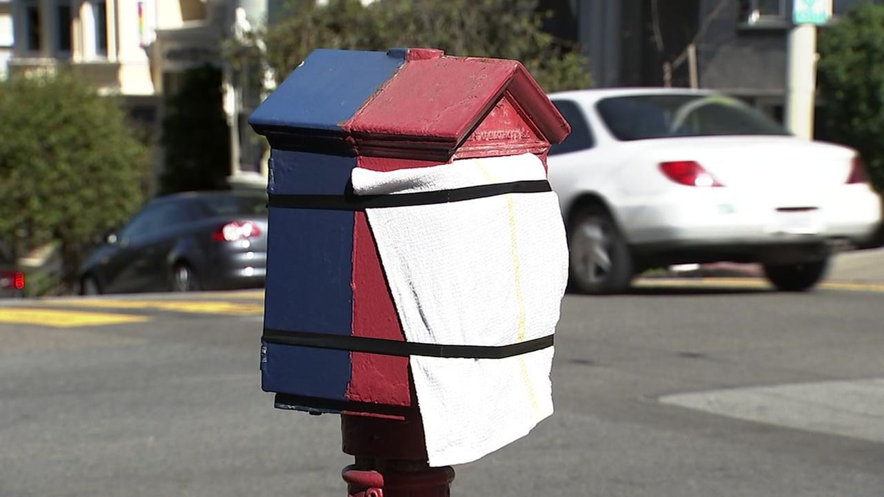 A San Francisco callbox appears on Wednesday, Feb. 28, 2018.