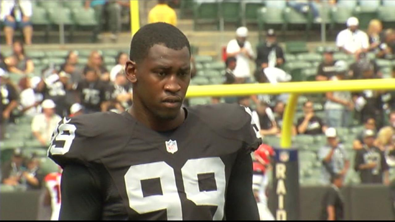 Aldon Smith is seen in this undated image.