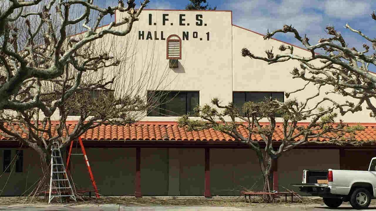 The IFES Hall is seen in Mountain View, Calif. on Monday, March 12, 2018.