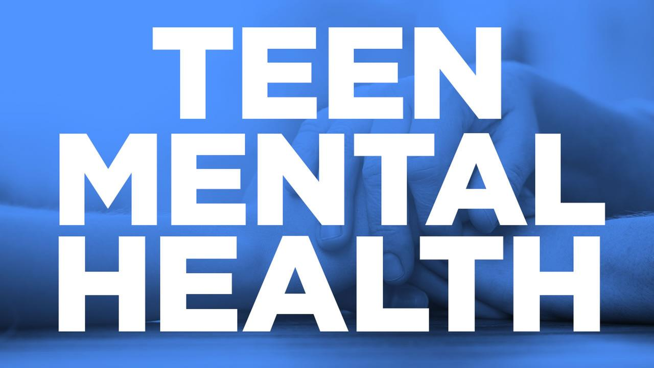 Teen mental health resources page