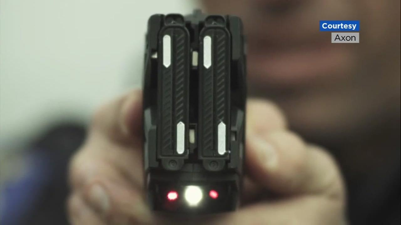 This is an undated image of a taser.