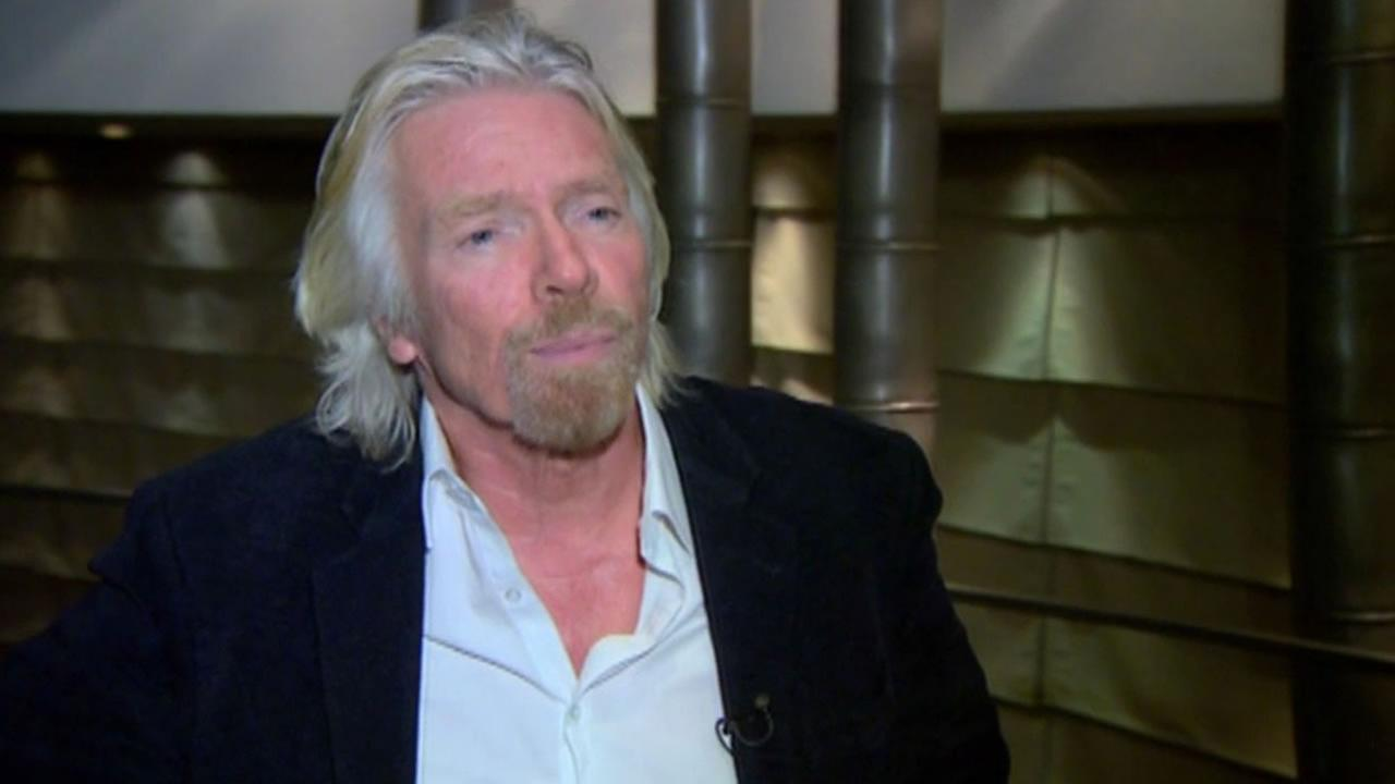 Billionaire investor Richard Branson is looking to Los Gatos-based Netflix to help shape his employees vacation policy.