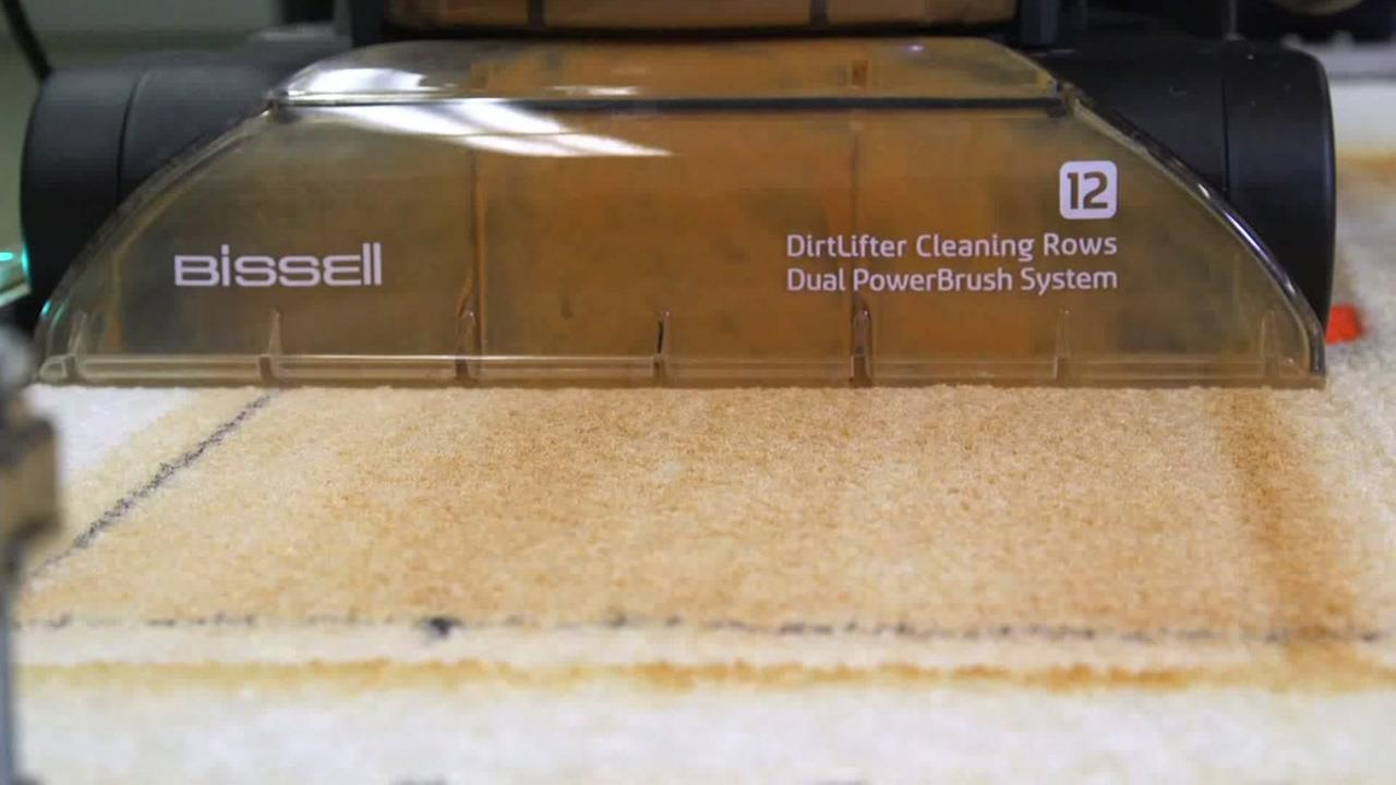 A carpet cleaner is seen in this undated image.