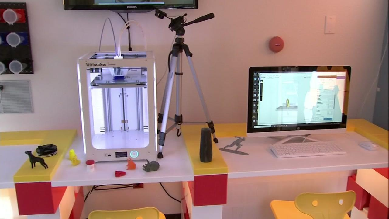 The first family-centered Makerspace was introduced at Ronald McDonald House in Palo Alto, Calif.