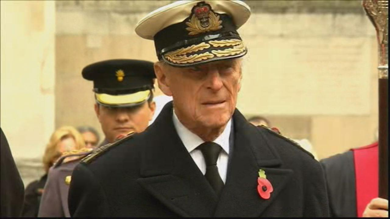 This undated image shows Prince Philip during a public appearance in Europe.