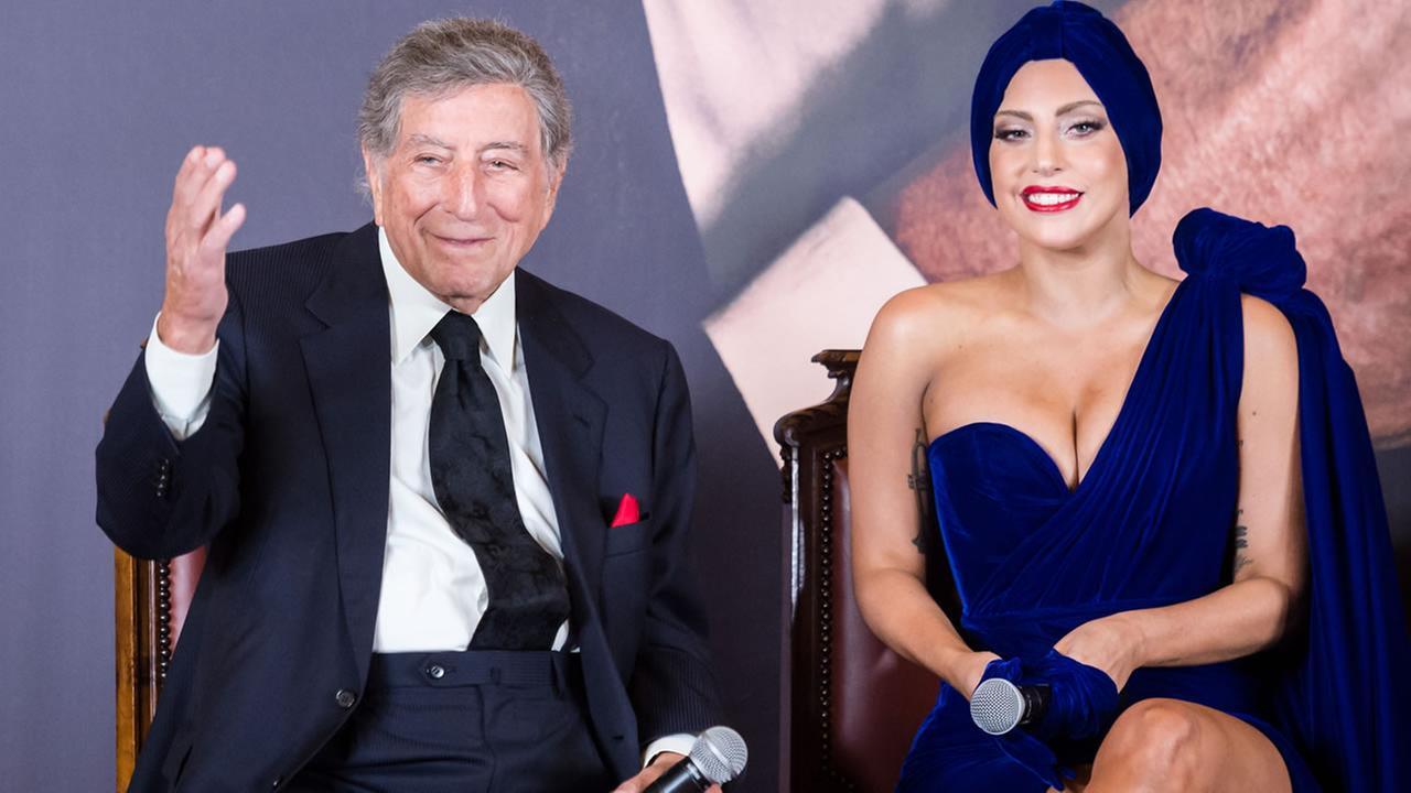 Tony Bennett and Lady Gaga.