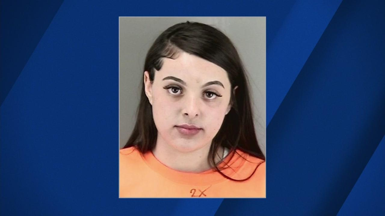 Mug shot of hit and run suspect Marisa Androvich on April 18, 2018 in San Francisco.