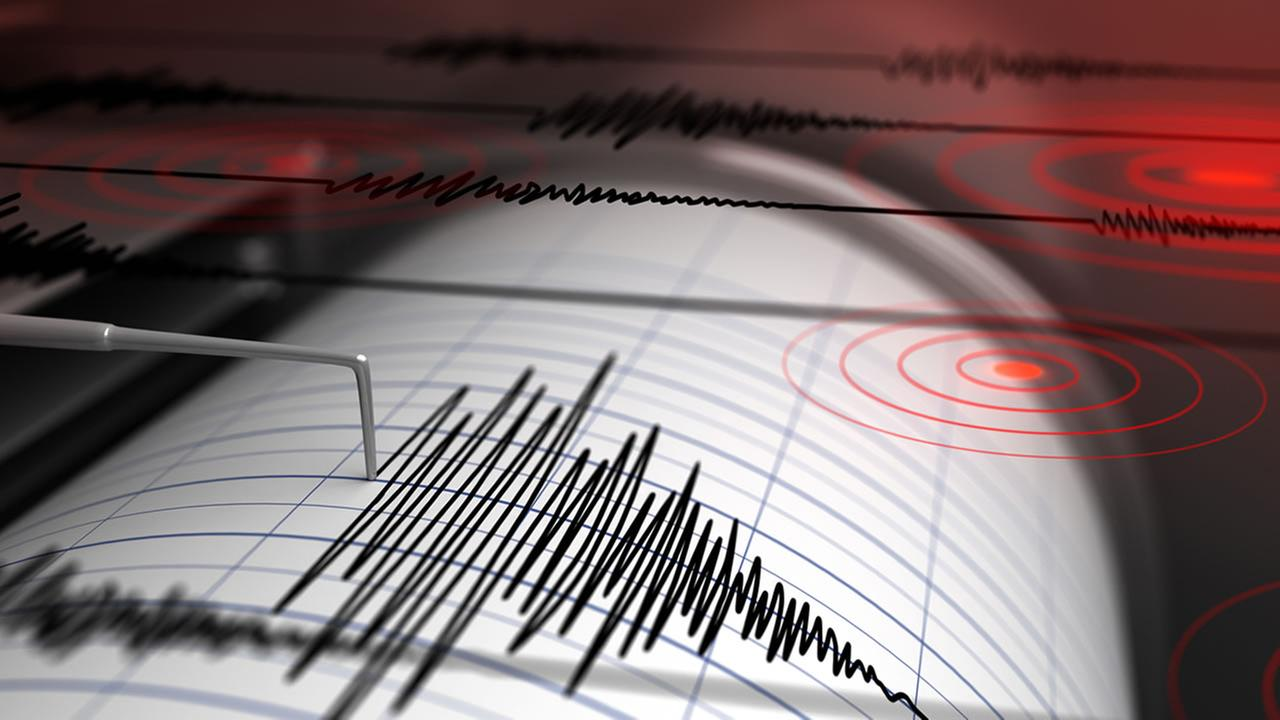 A seismograph is pictured in this undated file photo.