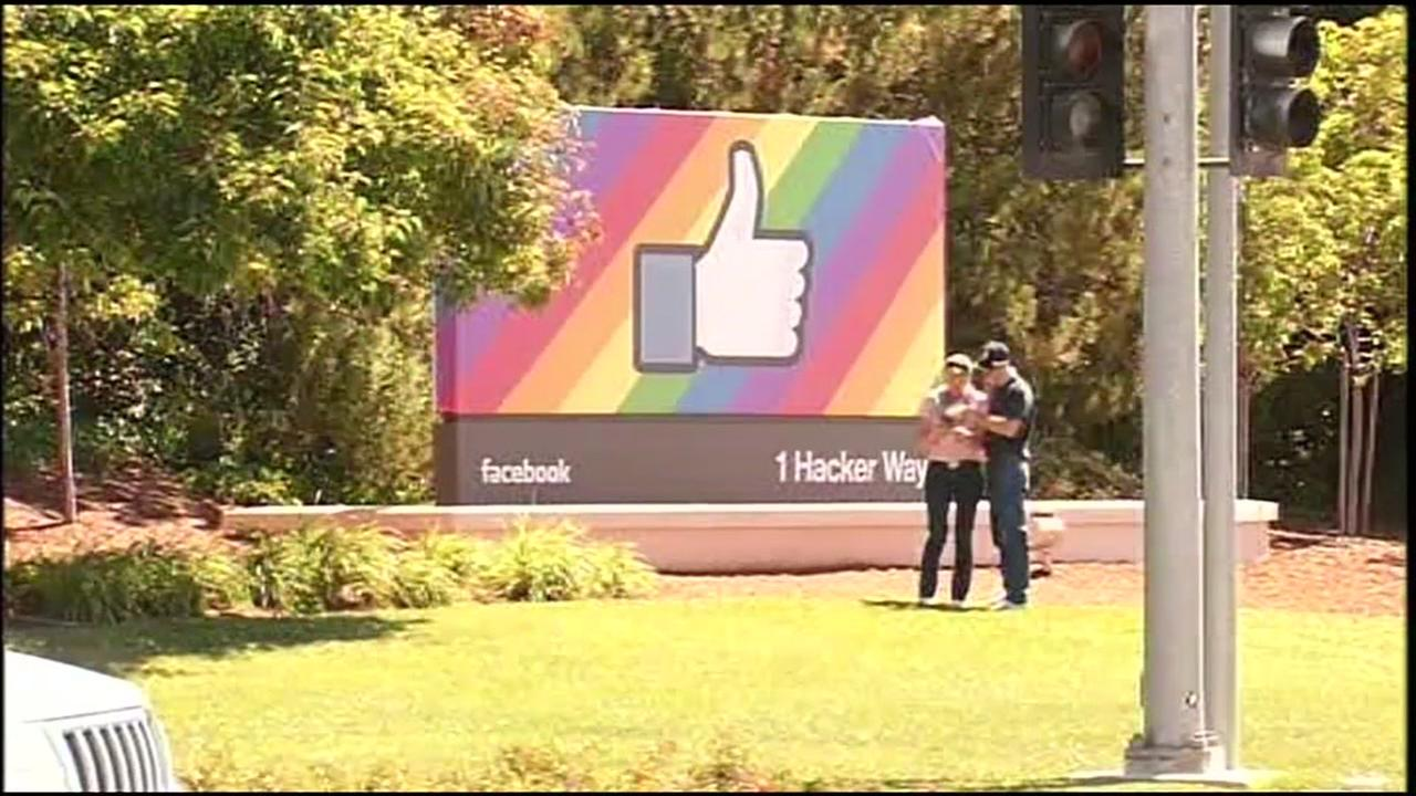 Facebooks headquarters in Menlo Park, Calif. appears in this undated image.