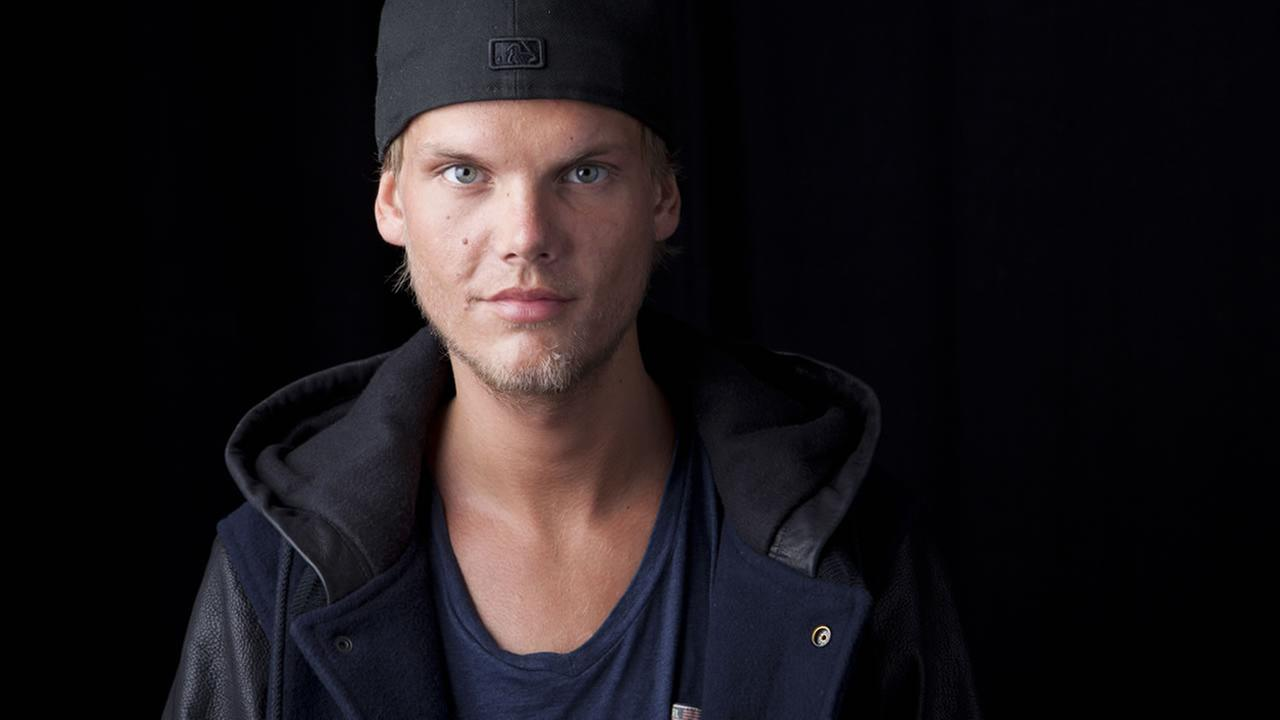 In this Aug. 30, 2013 file photo, the Grammy-nominated Swedish DJ-producer, Avicii poses for a portrait, in New York. Avicii released his debut album, True, on Sept. 17, 2013.