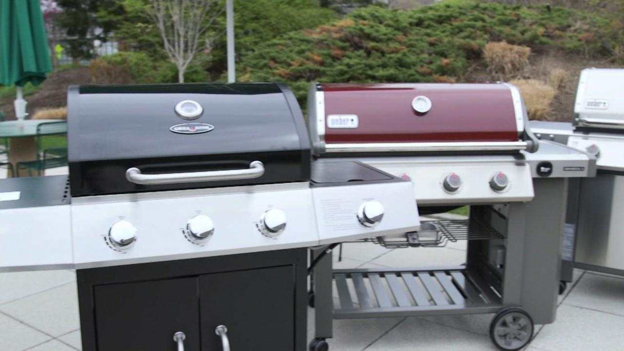 This is an undated image of grills.