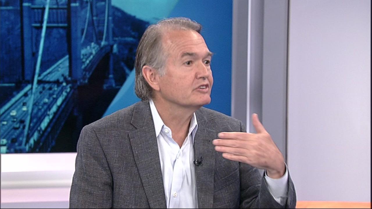 Author John Gray speaks to ABC7 News on Wednesday, April 25, 2018 in San Francisco.