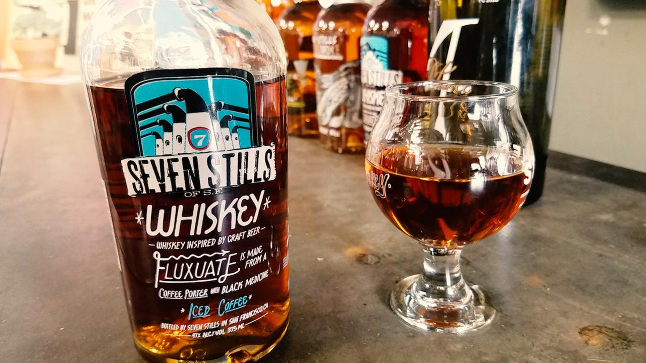 This Seven Still whiskey is not your average whiskey. It was distilled from a craft beer. And thats a growing trend in the spirits industry.