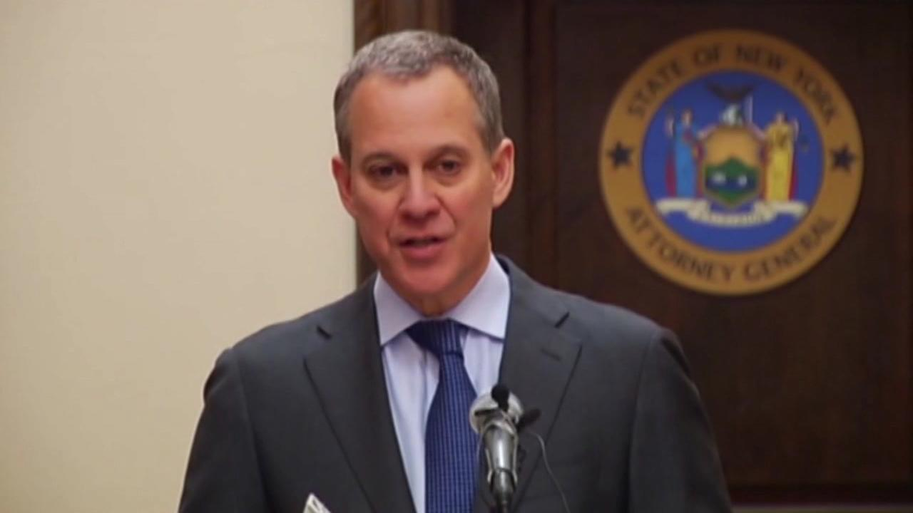 This is an undated image of former New York Attorney General Eric Schneiderman.
