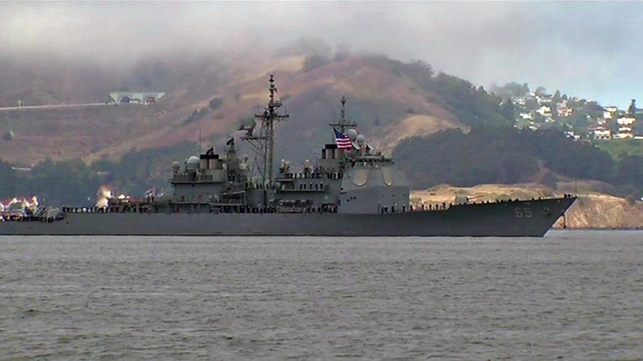 Fleet Week activities kick off in San Francisco.