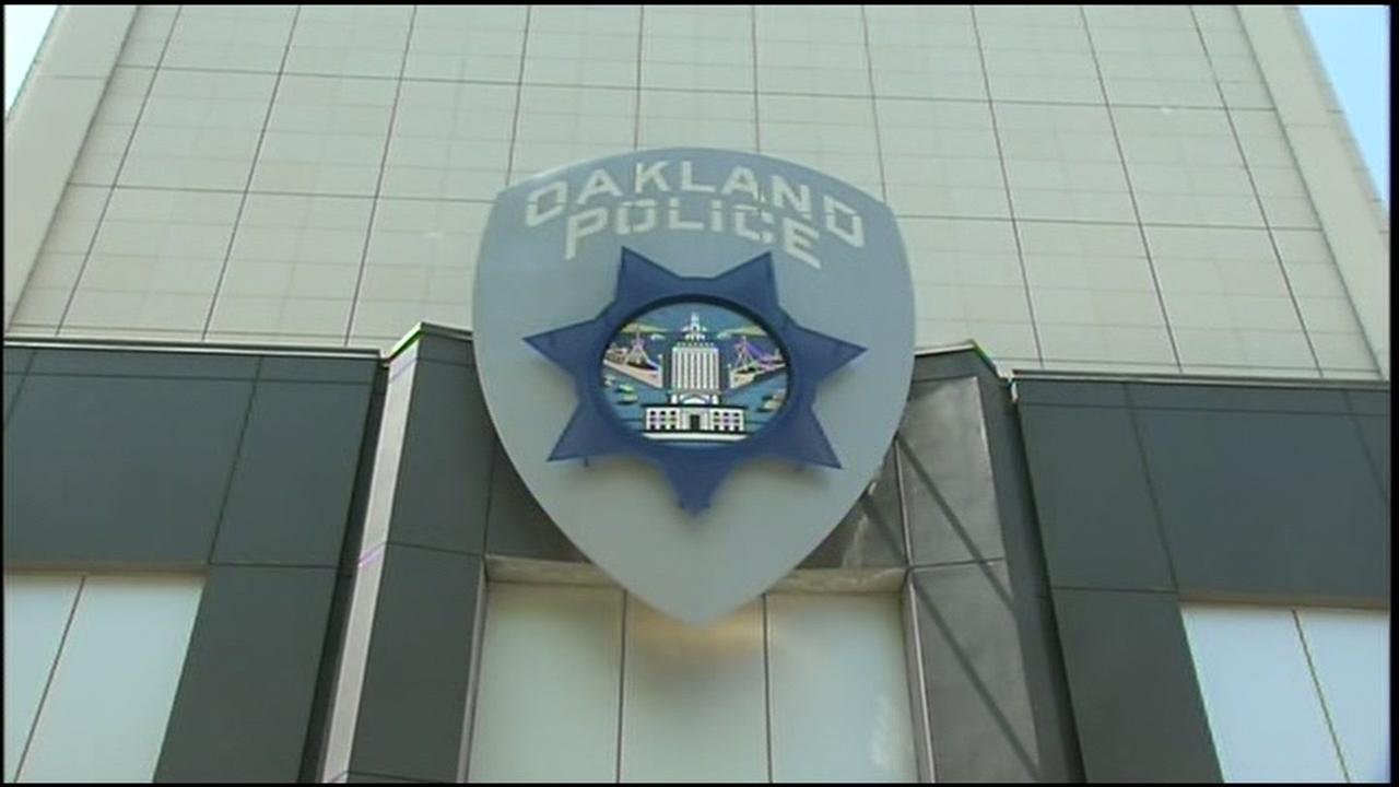 This is an undated image of the Oakland Police Department in Oakland, Calif.