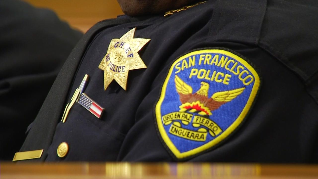 A San Francisco police officer is seen in this undated image.
