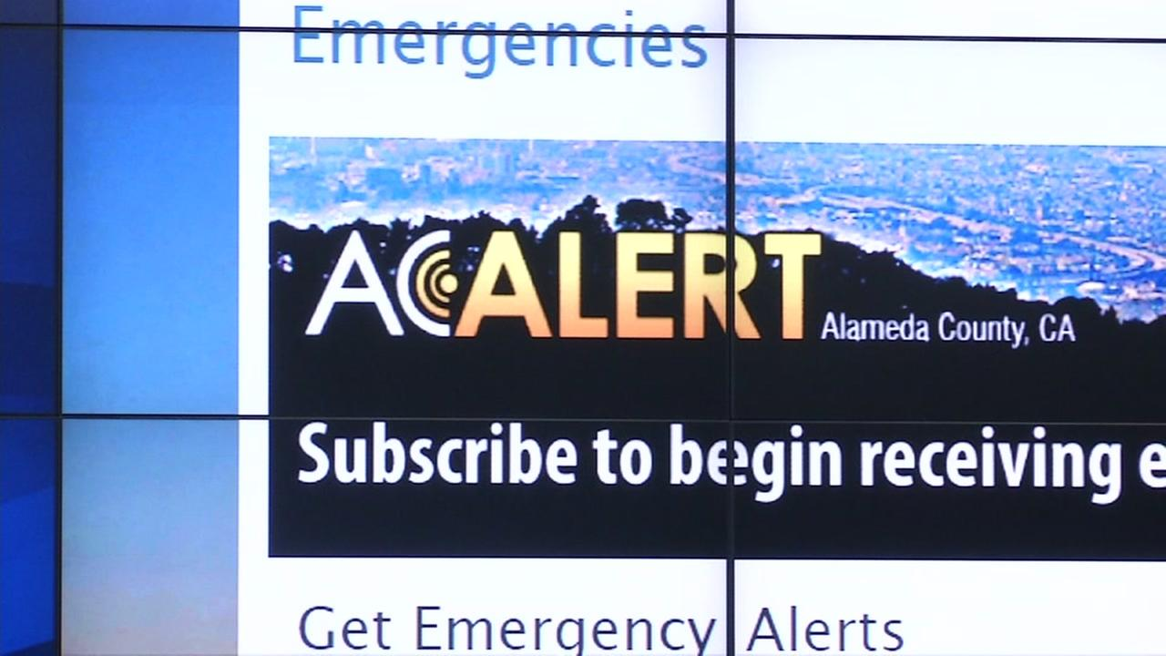 The website to sign up for AC Alerts is pictured on Tuesday, May 15, 2018.