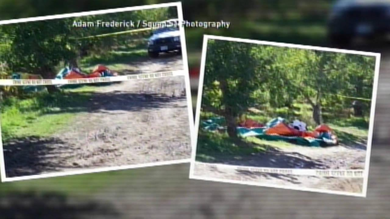 Toddlers in New Hampshire were injured after a powerful gust of wind lifted the bounce house they were playing in into the air.