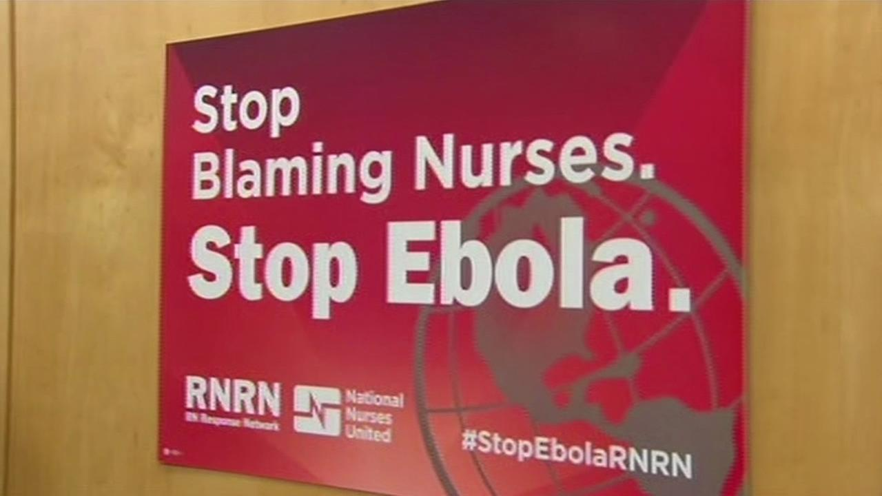 Nurses demand change in wake of Ebola crisis.