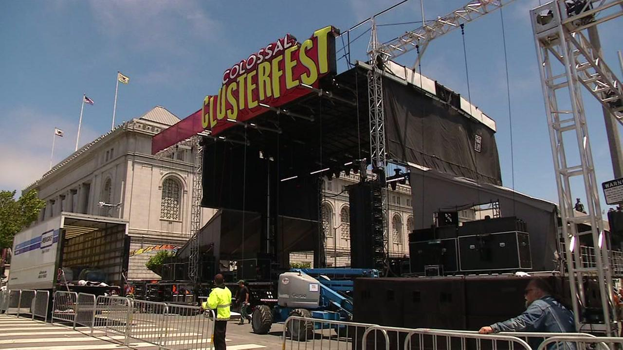 Comedy festival 'Clusterfest' kicks off in San Francisco
