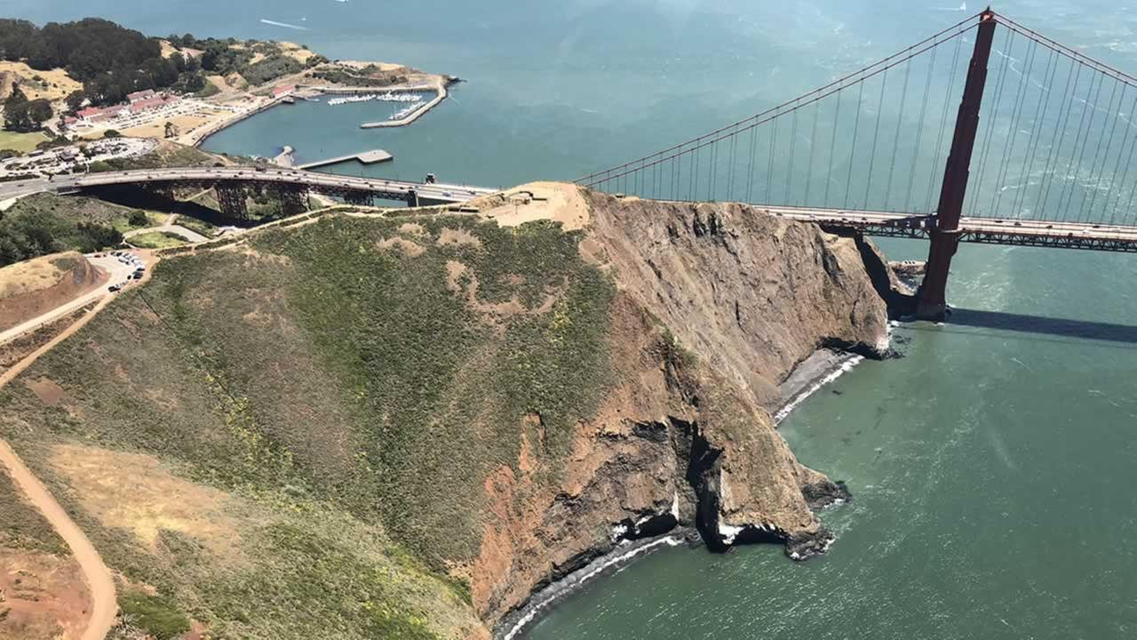 ABC7s Dion Lim captured these photos while soaring over the Bay Area in the Goodyear Blimp on Friday, June 1, 2018.