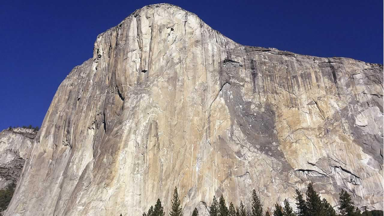 This Jan. 14, 2015 file photo shows El Capitan in Yosemite National Park, Calif.