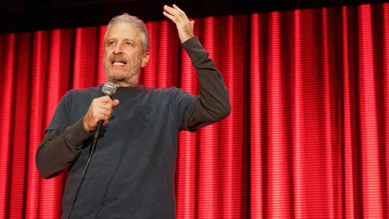Jon Stewart is seen at Clusterfest in San Francisco on Sunday, June 5, 2018.