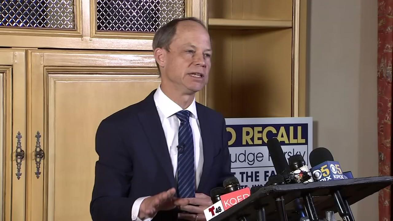Judge Aaron Persky appears in this undated image.