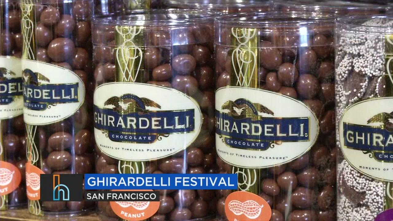 Ghirardelli chocolate appears in this undated image.