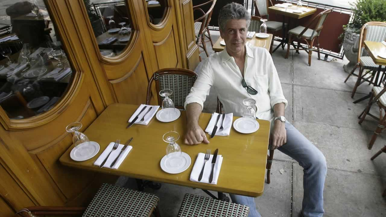 Anthony Bourdain, host of theTravel Channels No Reservations, poses in a New York restaurant, Wednesday, Aug. 8, 2007.