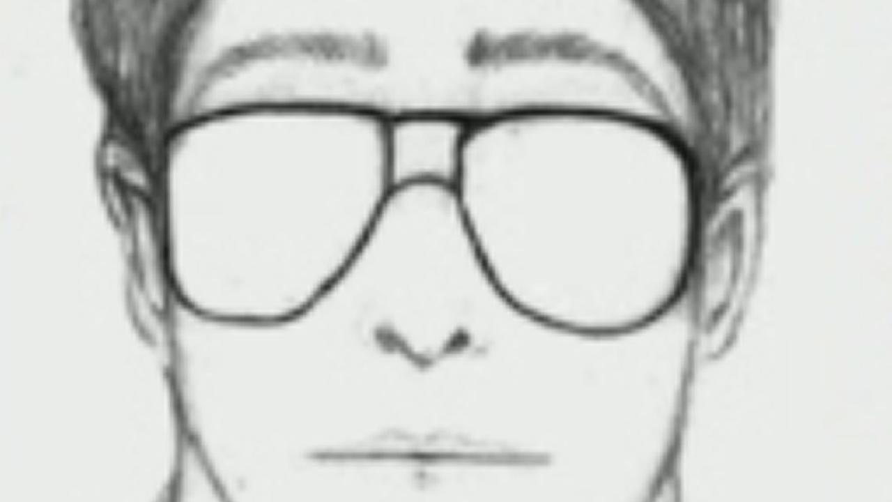 sketch of a possible suspect in a flashing incident