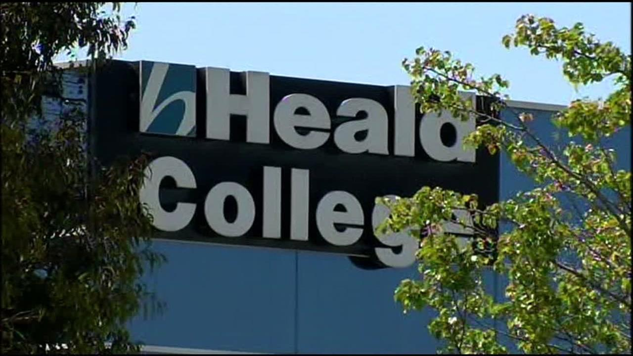 This is an undated image of Heald College.