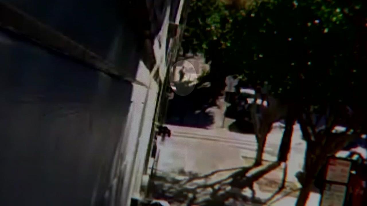 Surveillance video of attack in San Francisco.