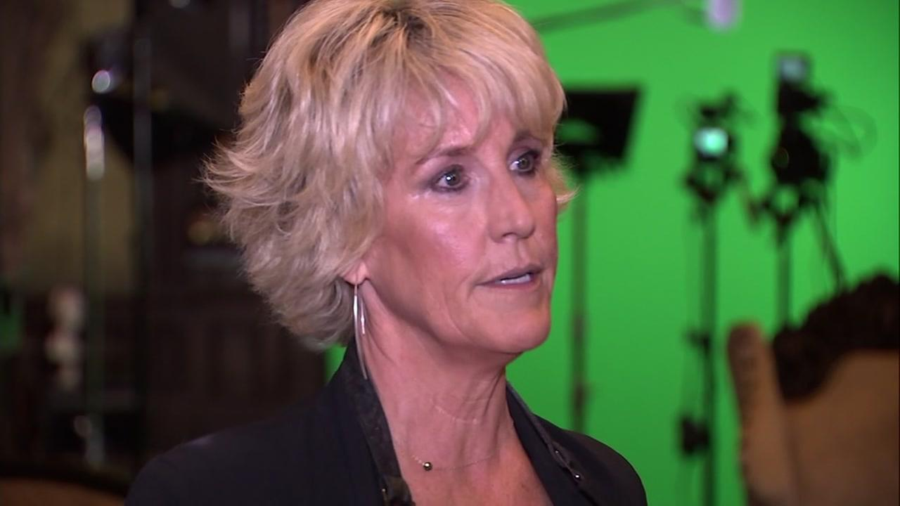 Erin Brockovich is seen in this undated image.