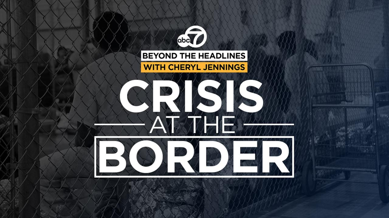 Crisis at the Border: ABC7's Cheryl Jennings travels with Bay Area activists to help immigrant families