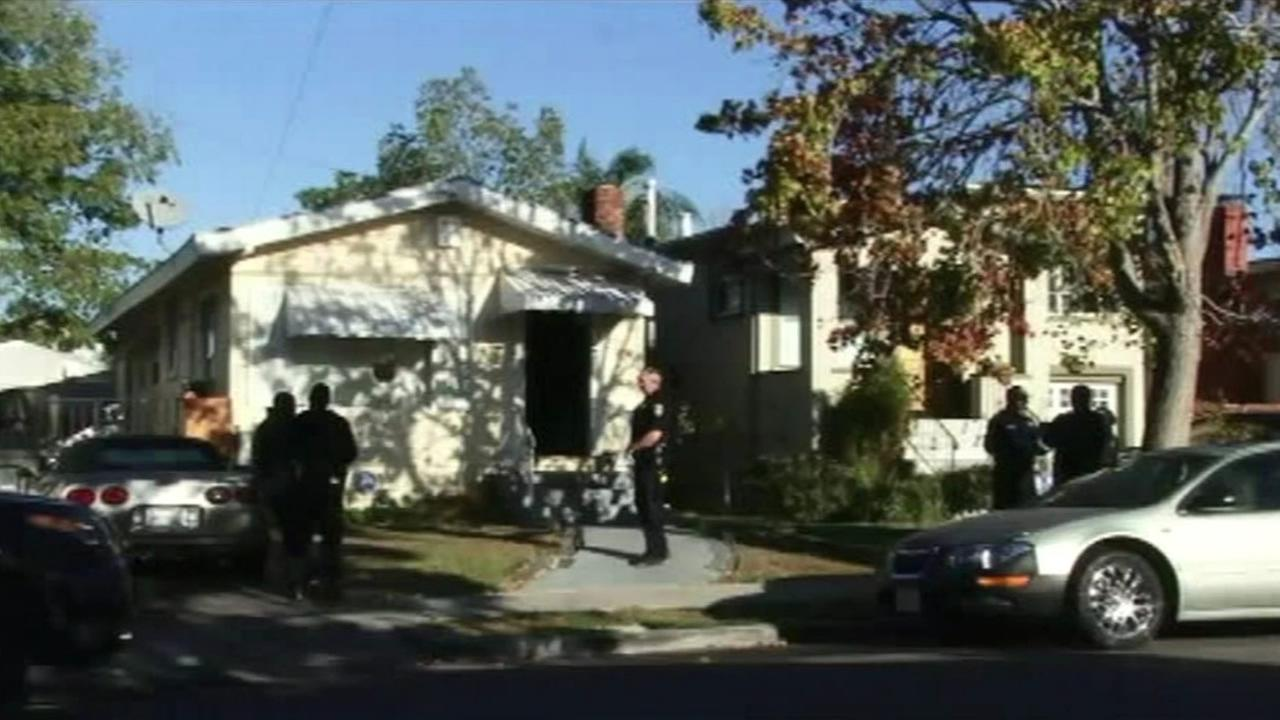 Oakland police are investigating the death of a baby girl near 66th Avenue and Flora Street